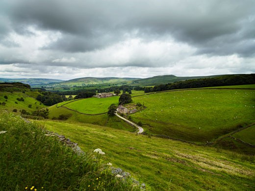 Peak District, England    : Stock Photo