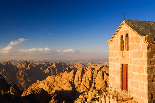 Chapel of the Holy Trinity, Mount Sinai, Sinai, Egypt    : Stock Photo