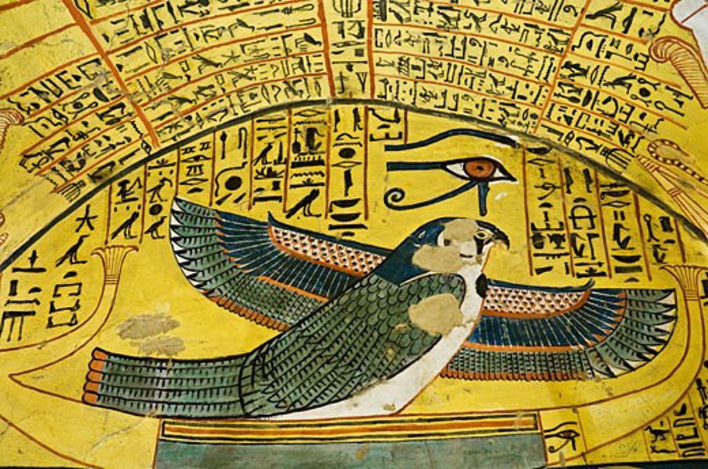 Stock Photo: 1828R-39886 Ptah-Sokar-Osiris, Tomb of Pashedu, Deir Al-Medina, west Bank, Luxor, Egypt