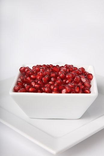 Pomegranate Seeds    : Stock Photo