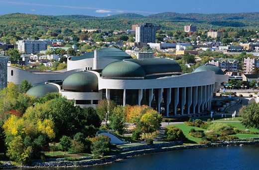Stock Photo: 1828R-41323 Canadian Museum of Civilization, Hull, Quebec, Canada