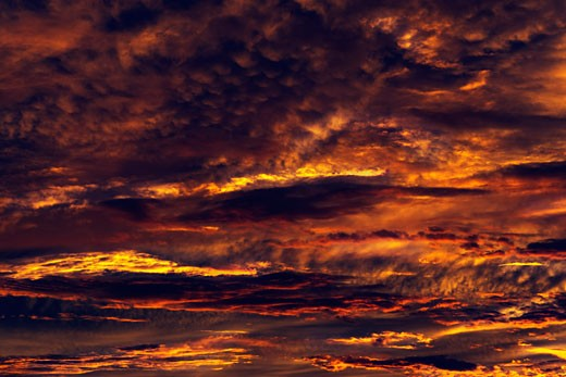 Clouds at Sunset, Darwin, Northern Territories, Australia    : Stock Photo