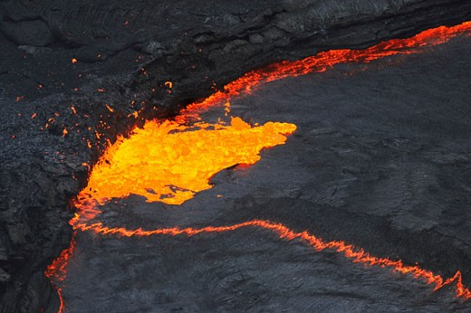 Stock Photo: 1828R-41827 Erta Ale Volcano, Danakil Desert, Ethiopia