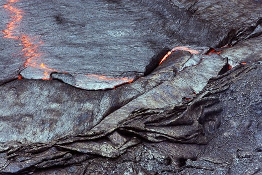 Stock Photo: 1828R-41841 Magma in Lava Lake, Erta Ale, Danakil Desert, Ethiopia, Africa