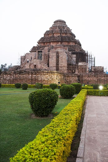 Stock Photo: 1828R-42036 Konark Sun Temple, Konark, Orissa, India