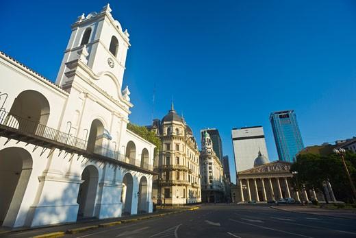 Buenos Aires Cabildo, Plaza de Mayo, Buenos Aires, Argentina    : Stock Photo