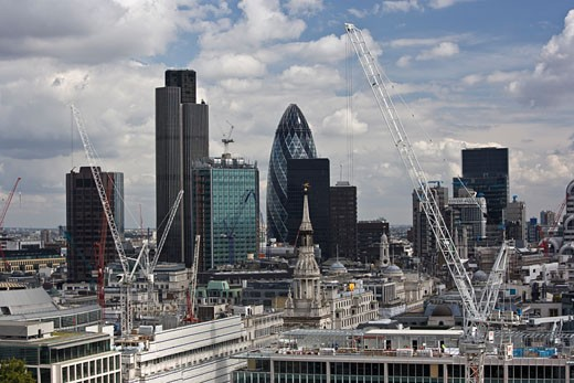Skyline, London, England    : Stock Photo