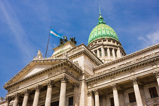 Stock Photo: 1828R-44266 Argentine National Congress, Buenos Aires, Argentina