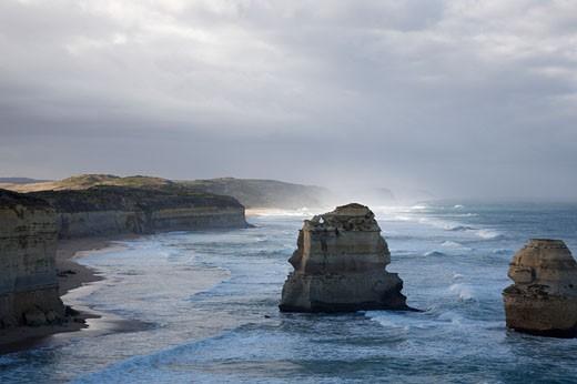 Twelve Apostles, Port Campbell National Park, Victoria, Australia    : Stock Photo