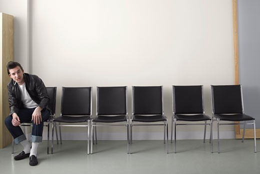 Stock Photo: 1828R-45886 Rebel in Waiting Area