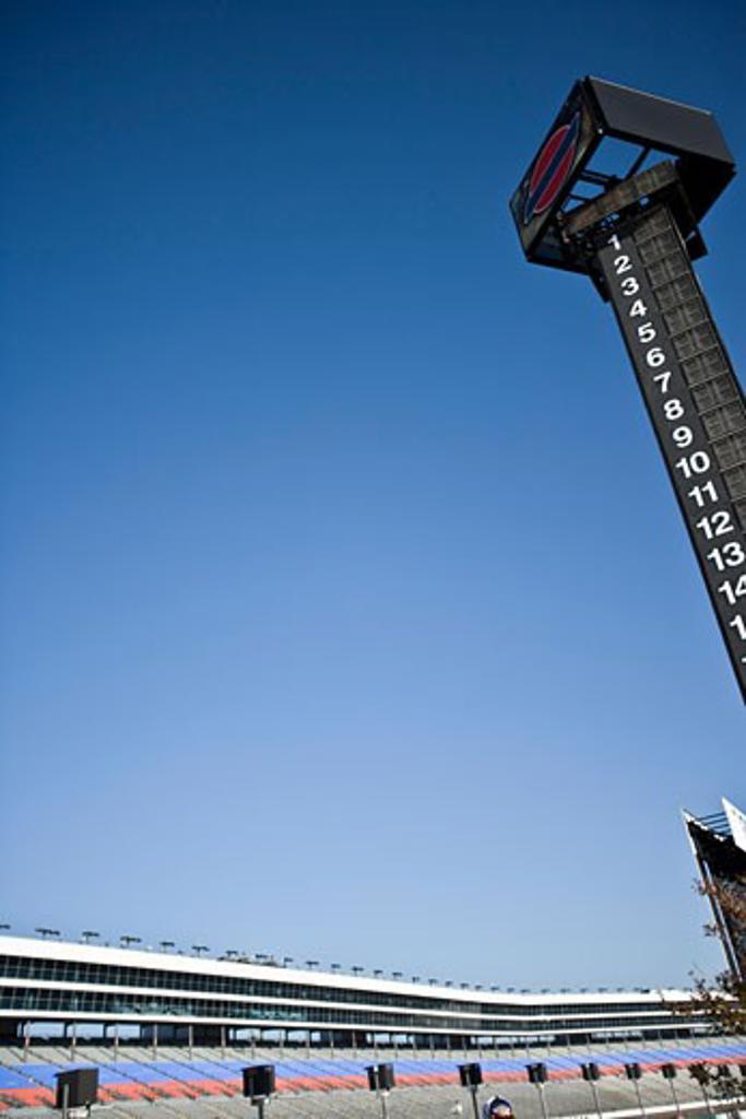 Stock Photo: 1828R-47930 Race Track Scoreboard