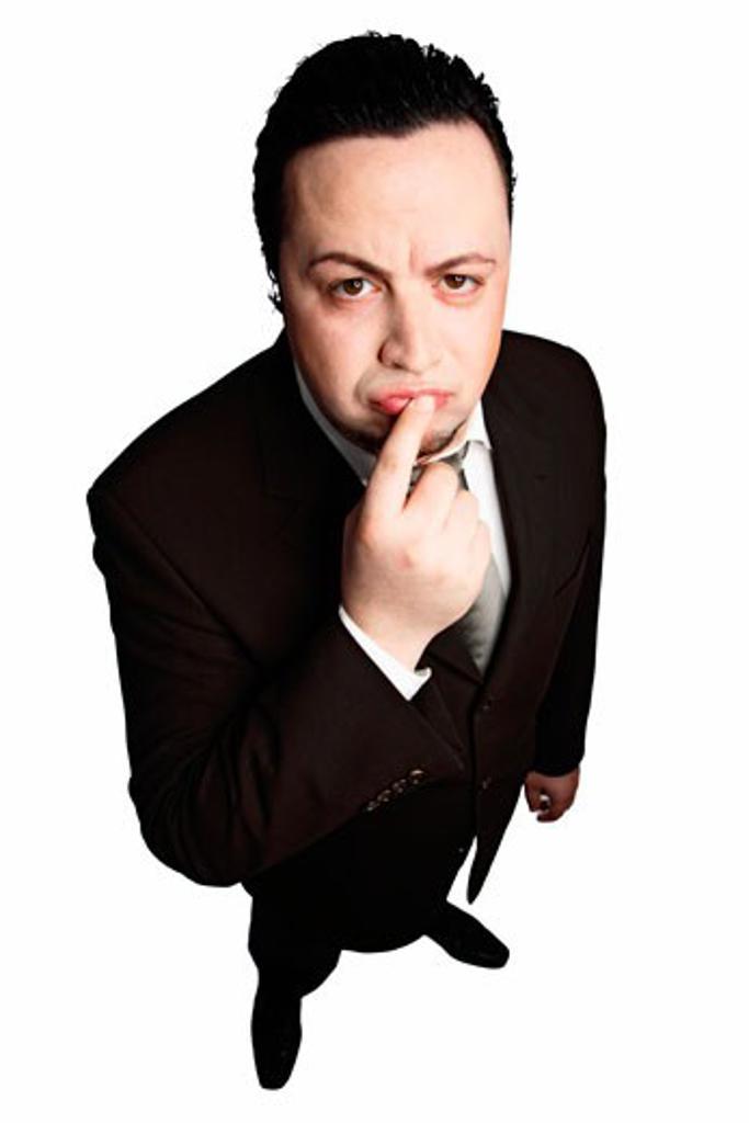 Stock Photo: 1828R-47971 Portrait of Man