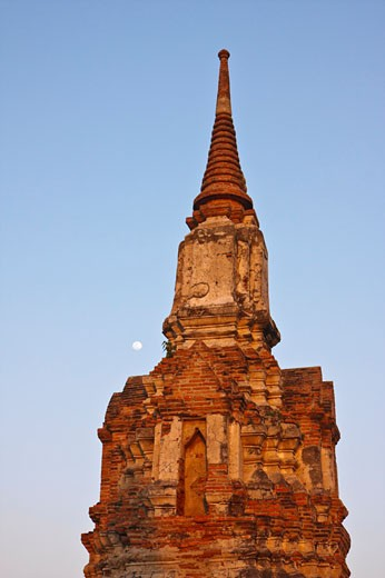 Stock Photo: 1828R-48743 Ancient Structure, Ayutthaya, Thailand