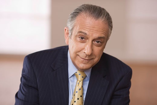 Stock Photo: 1828R-48802 Portrait of Businessman