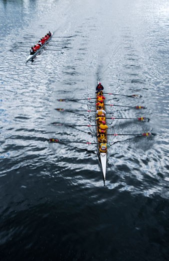 Head of the Trent Regatta on the Trent Canal, Peterborough, Ontario, Canada    : Stock Photo