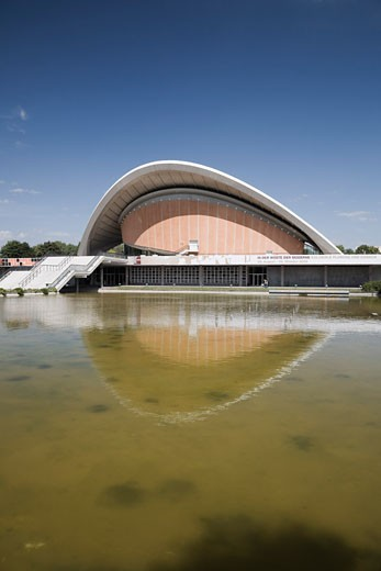 Haus der Kulturen der Welt, Berlin, Germany    : Stock Photo