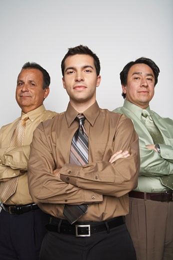 Stock Photo: 1828R-53719 Portrait of Businessmen