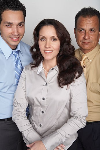 Stock Photo: 1828R-53733 Portrait of Business People