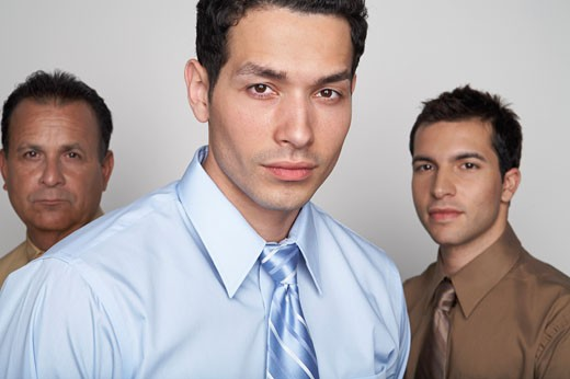 Stock Photo: 1828R-53739 Portrait of Businessmen