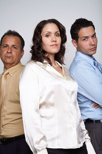 Stock Photo: 1828R-53747 Portrait of Business People