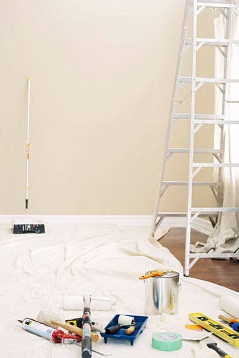 Interior Renovation    : Stock Photo