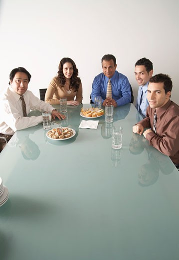 Business People in Boardroom    : Stock Photo