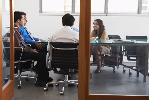 Stock Photo: 1828R-55671 Business People in Boardroom