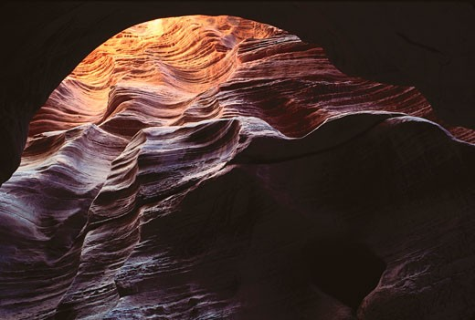 Buckskin Gulch, Paria Wilderness, Utah, USA    : Stock Photo
