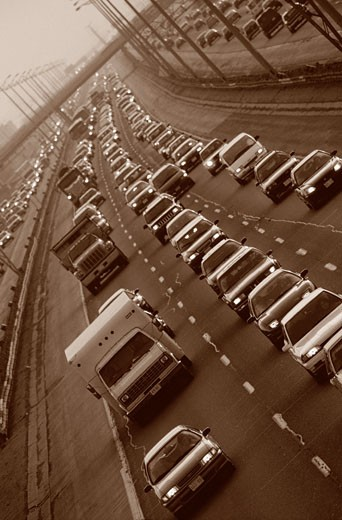 Stock Photo: 1828R-57180 Traffic