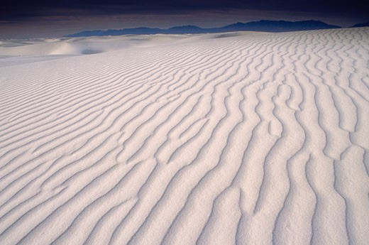 Stock Photo: 1828R-57431 White Sands National Monument, New Mexico, USA