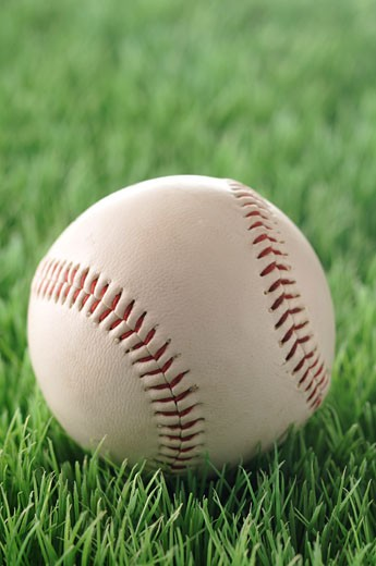 Stock Photo: 1828R-59172 Close-Up of Baseball