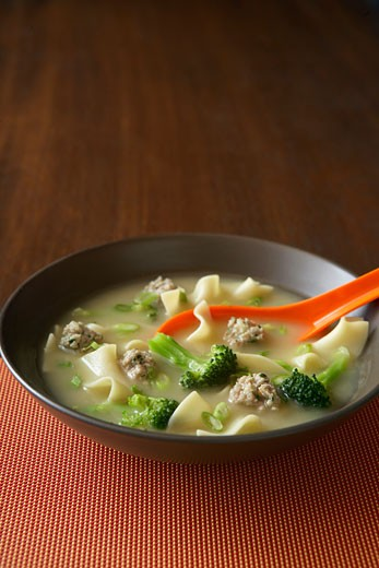 Stock Photo: 1828R-60182 Wonton Soup