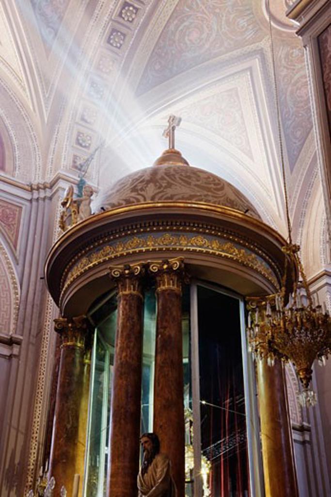 Morelia Cathedral, Morelia, Michoacan, Mexico    : Stock Photo