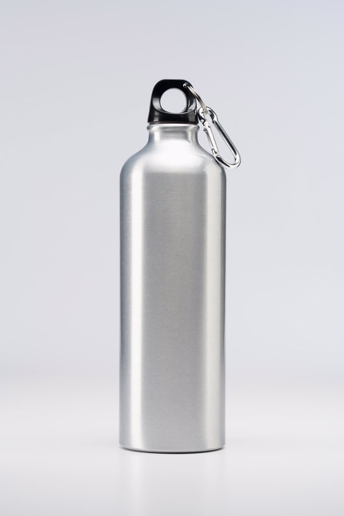Stock Photo: 1828R-61159 Metal Water Bottle