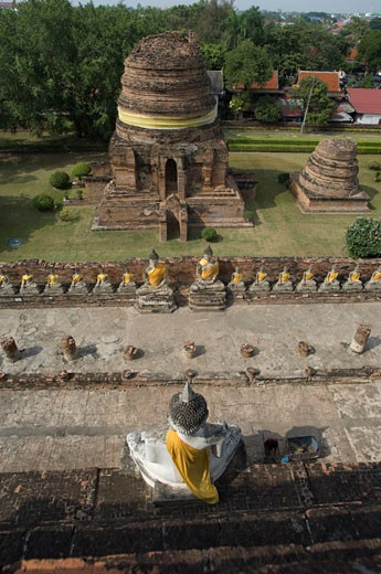 Stock Photo: 1828R-61901 Ayutthaya, Thailand
