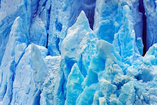 Stock Photo: 1828R-62492 Perito Moreno Glacier, Lago Argentino, Los Glaciares National Park, Santa Cruz Province, Patagonia, Argentina