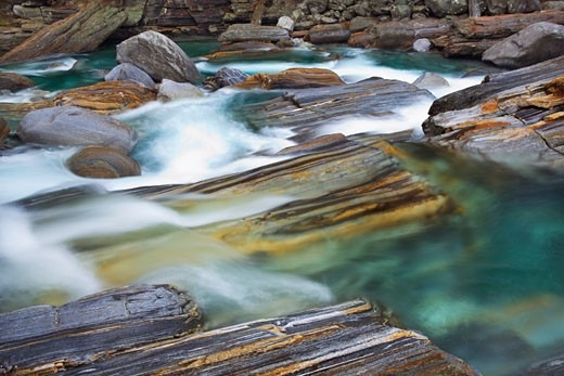 Stock Photo: 1828R-62495 River Verzasca, Valle Verzasca, Locarno, Ticino, Switzerland