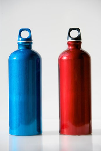 Stock Photo: 1828R-62799 Reusable Water Bottles