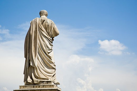 Statue of Saint Peter, St Peters Basilica, Vatican City, Rome, Latium, Italy : Stock Photo