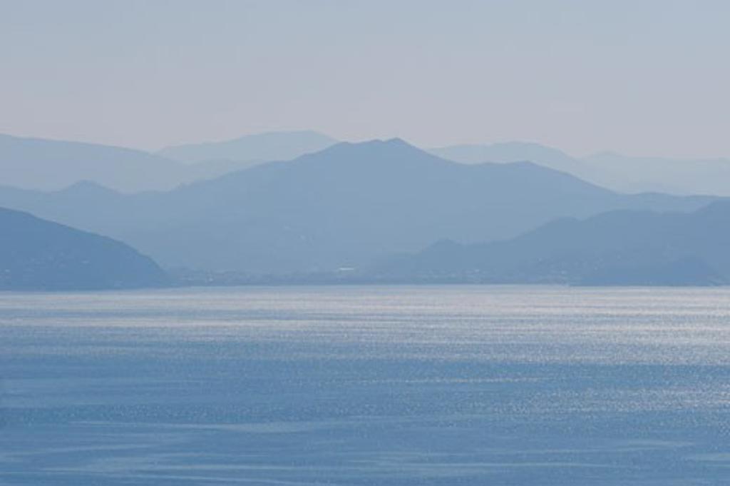 Italian Riviera, Genoa Province, Liguria, Italy : Stock Photo