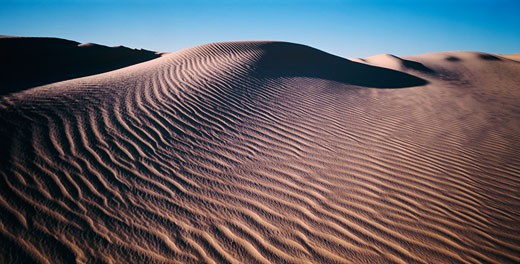 Stock Photo: 1828R-64386 Sand Dunes, Lake Mungo, Australia
