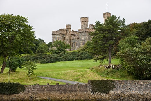 Lews Castle, Stornoway, Isle of Lewis, Scotland : Stock Photo