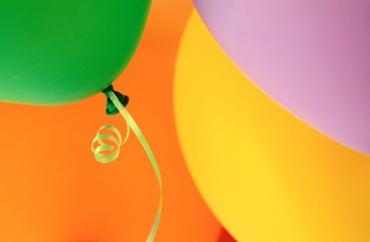 Stock Photo: 1828R-6620 Balloons