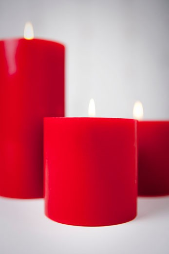 Stock Photo: 1828R-66346 Lit Candles
