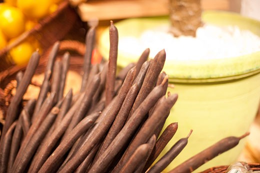 Stock Photo: 1828R-66954 Vanilla Beans