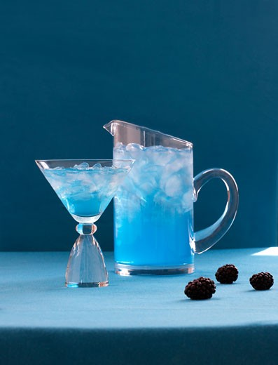 Blackberry Cocktail : Stock Photo