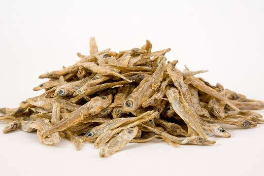 Stock Photo: 1828R-70148 Dried Kapenta Fish