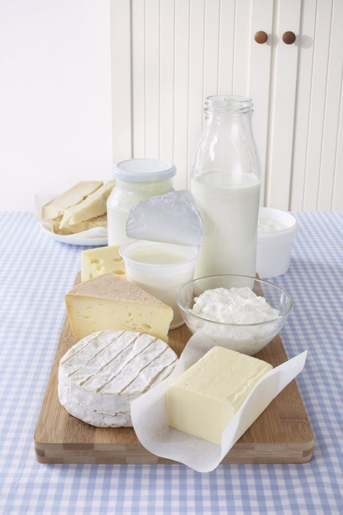 Dairy Products : Stock Photo