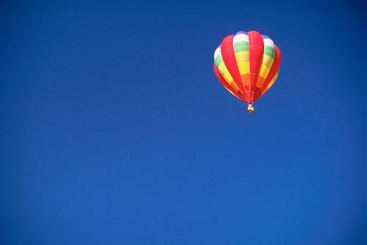 Stock Photo: 1828R-7482 Hot Air Balloon Fiesta, Albuquerque, New Mexico, USA