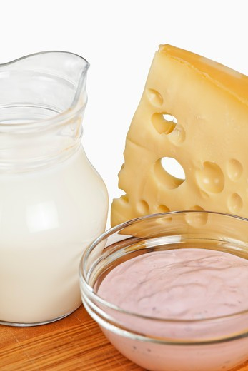 Stock Photo: 1828R-75218 Still Life of Dairy Products
